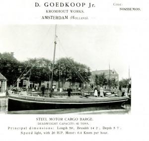 Afb 4: Motorbeurtschip Stad Heerenveen