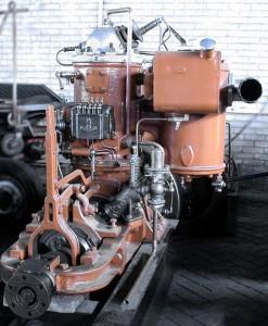 Afb.: Kromhout gloeikopmotor