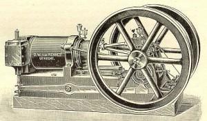Afb.: Van Rennesmotor, 1895