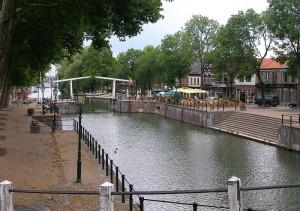 Afb: De oude sluis in Vreeswijk