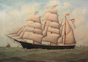 Afb. Bark Magdalena Noordelijk Scheepvaartmuseum