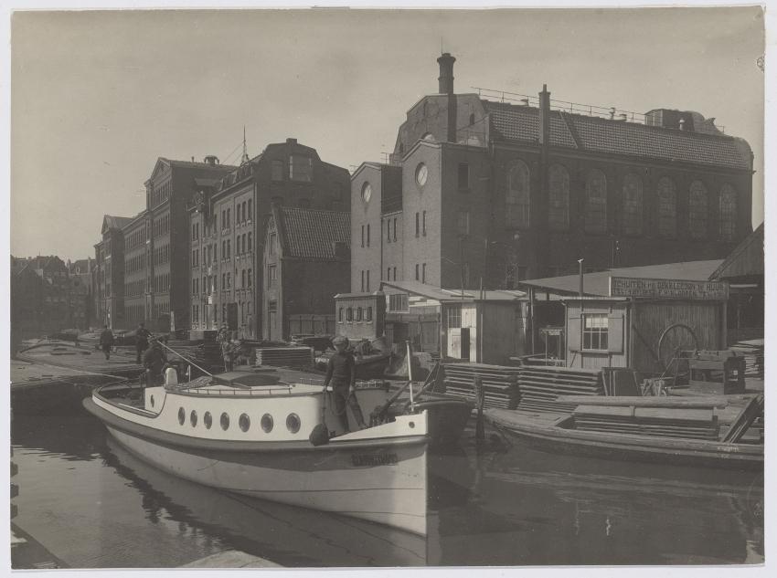Afb.: Sleepboot Koning David in 1912