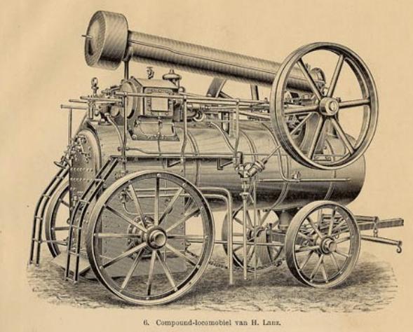 Een locomobiel