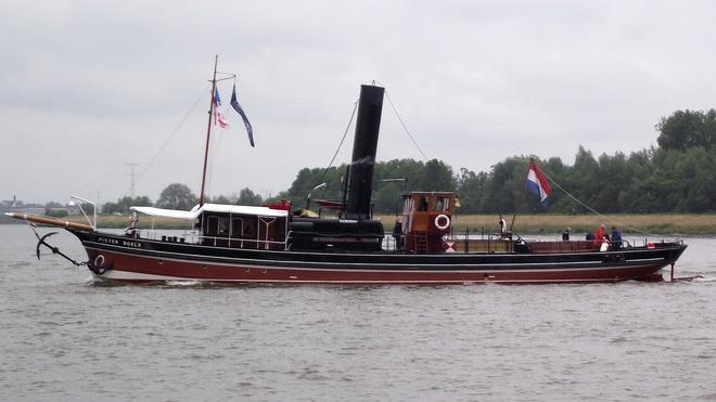 Afb.: Stoomsleepboot Pieter Boele