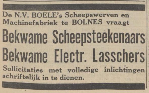 Afb. Advertentie voor Electr. Lassers