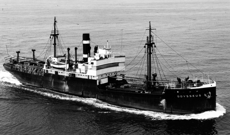 Afb.: De Odysseus van de KNSM na 1934